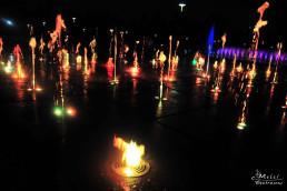 Wroclaw, Polonia - Fantana de la Hala Centenarului