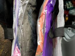 2018 - hainele folosite se muta in pungi vidate