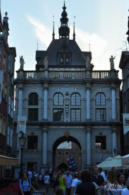 Gdansk, Polonia - Poarta de aur