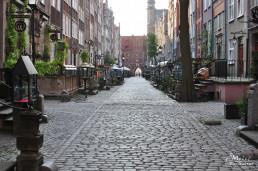 Gdansk, Polonia - Strada Mariaka