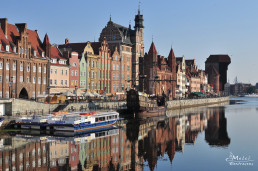 Gdansk, Polonia - Portul