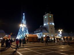 Targ de Craciun in Brasov